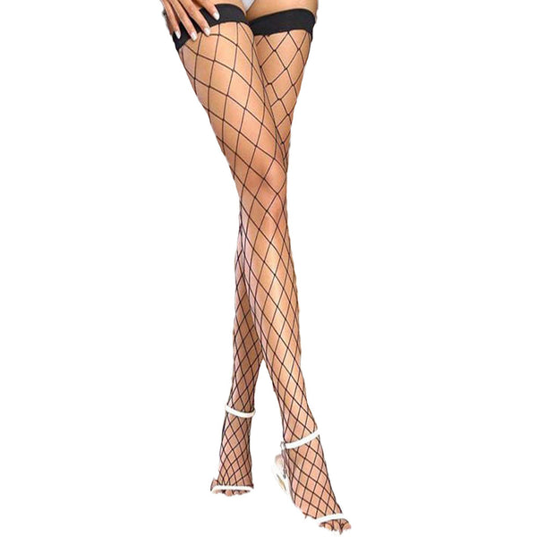 Black Whale Net Stockings