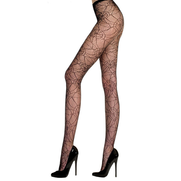 Spider Web Fancy Dress Tights