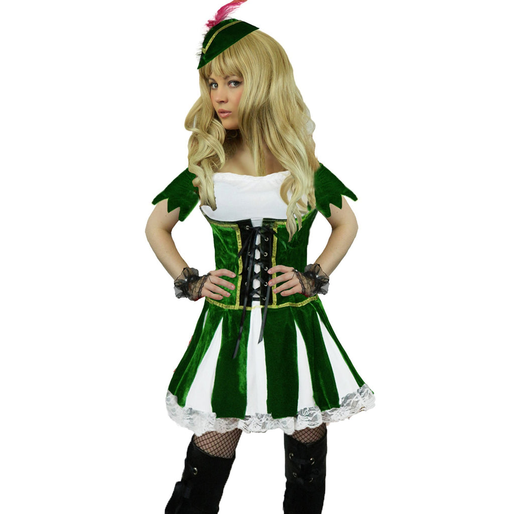 Ladies Deluxe Robin Hood Outlaw Costume
