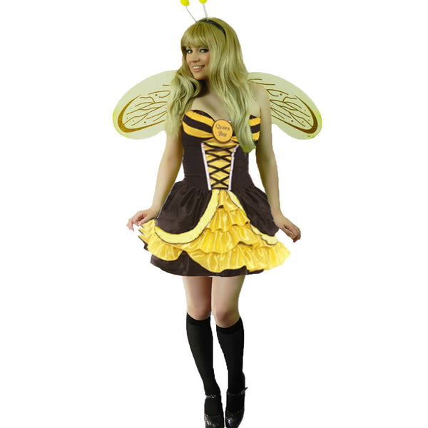 Ladies Miss Honey Bumblebee Costume