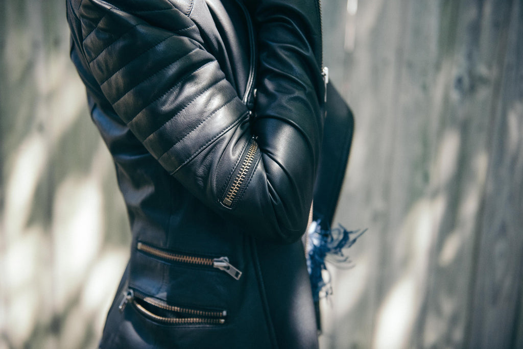 10 ways to make your leather jacket stand out from the crowd