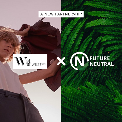 West 14th x Future Neutral Carbon Offset Credits Sustainable Luxury