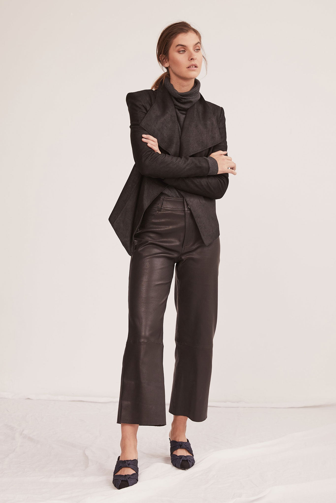 094d4fabc1dd The-Prospect-Pant-Black-Stretch-Leather-High-Rise-Wide-Leg-Cropped ...