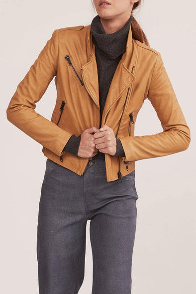 The New Yorker Motor Jacket Malto Leather