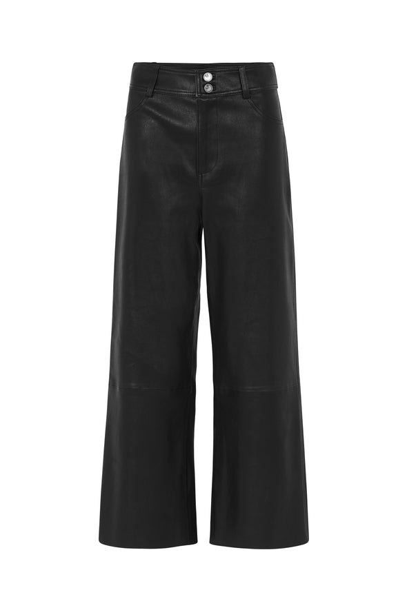 Prospect Pant Black Stretch Leather