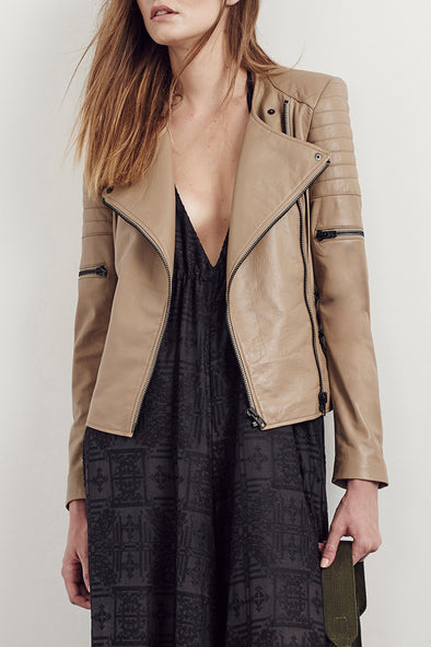 Greenwich Street Motor Jacket Sunkissed Leather