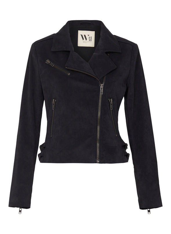 The New Yorker Motor Jacket Skin Free Suede