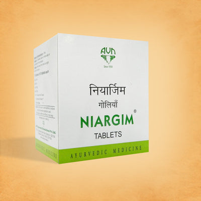 AVN Niargim 100 Tablets for Migraine & Tension Headaches