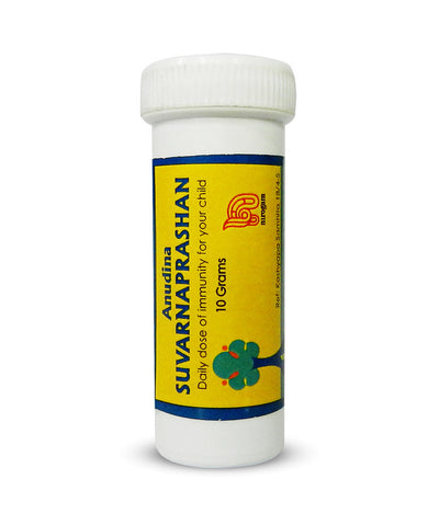 Anudina Suvarnaprashan - #1 Ayurvedic Immunity Booster for Kids (1 bottle = Upto 6 months dosage)