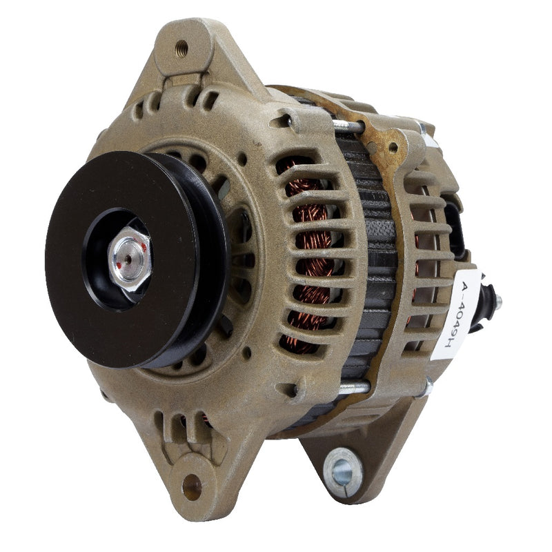 Roadsafe 4wd Nissan Patrol GQ GU TD42 130A 12v Alternator High Output E-Coated.