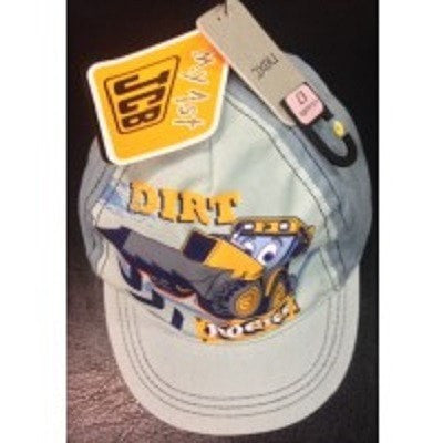 boys cap/hat - JCB Grey Cap For 3-6 Years