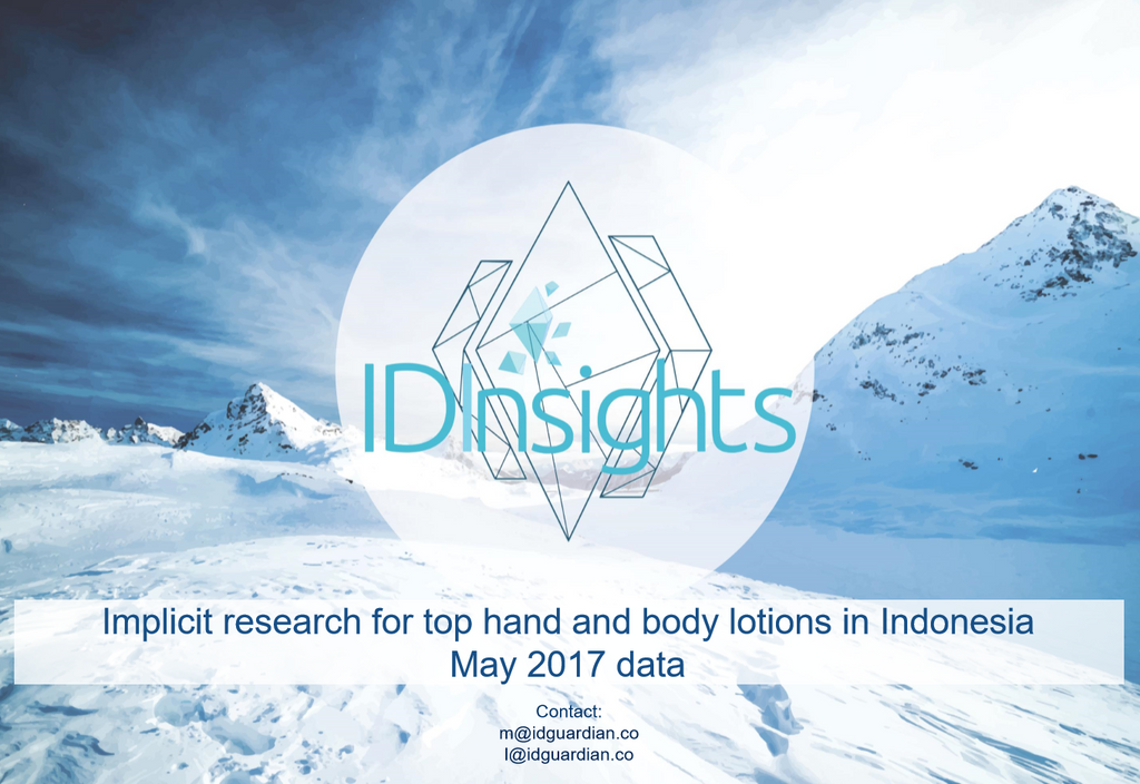 ID Insights report - Top body lotions in Indonesia