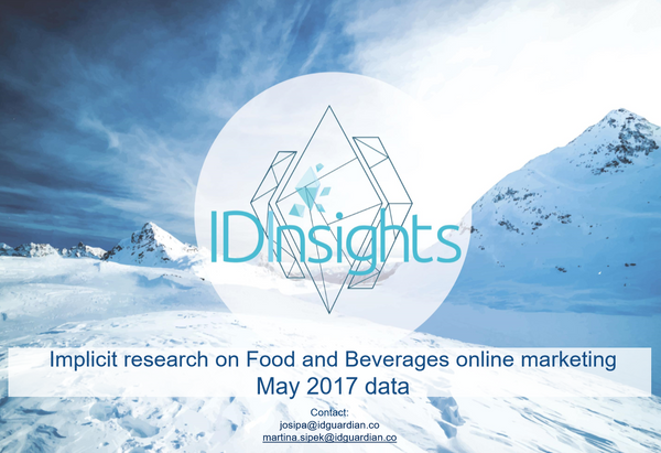 ID Insights report - online marketing analysis, cereals and snacks