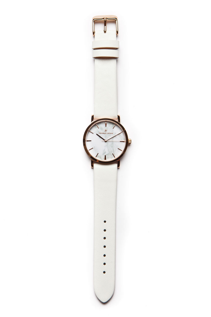 Thomas Stone Classic Marble Rosegold 38mm Watch - Thomas Stone™ Official Store - Icelandic design