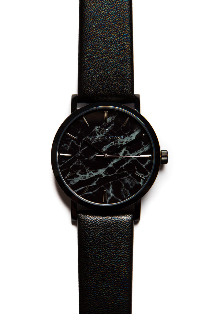 Thomas Stone Classic Marble Black 38mm Watch - Thomas Stone™ Official Store - Icelandic design