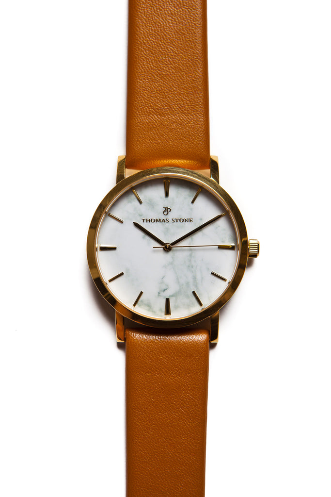 Thomas Stone Classic Marble Gold 38mm Watch - Thomas Stone™ Official Store
