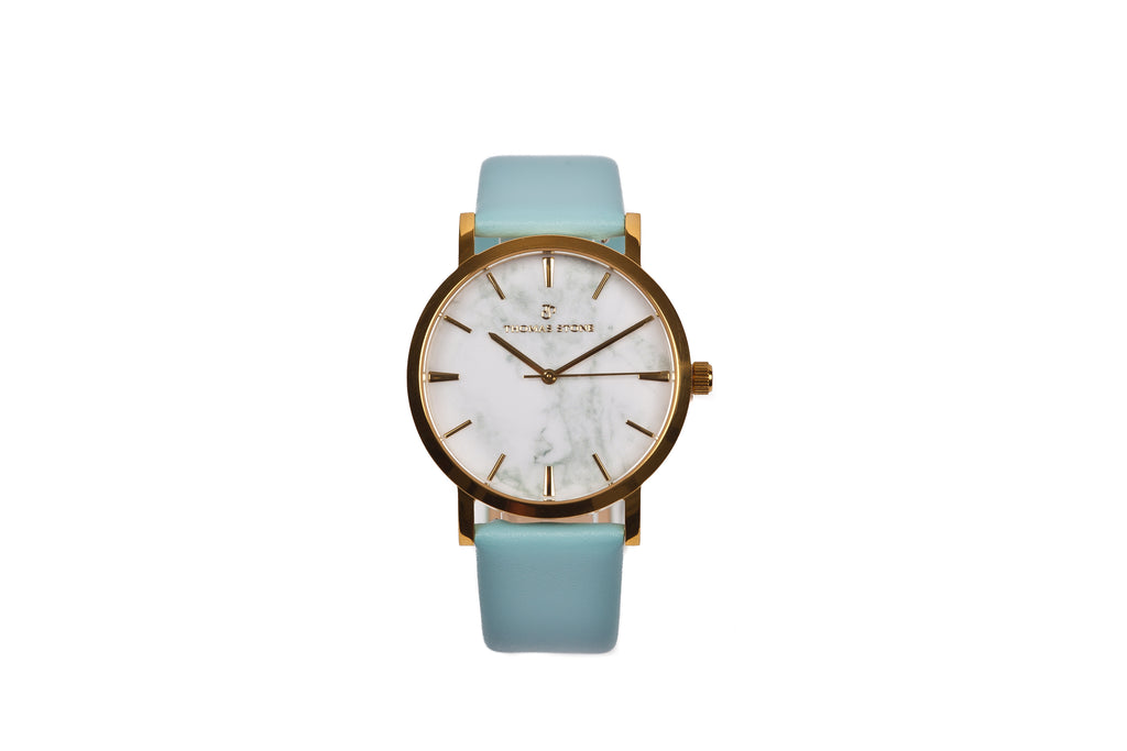 Thomas Stone Classic Marble Gold 38mm Watch