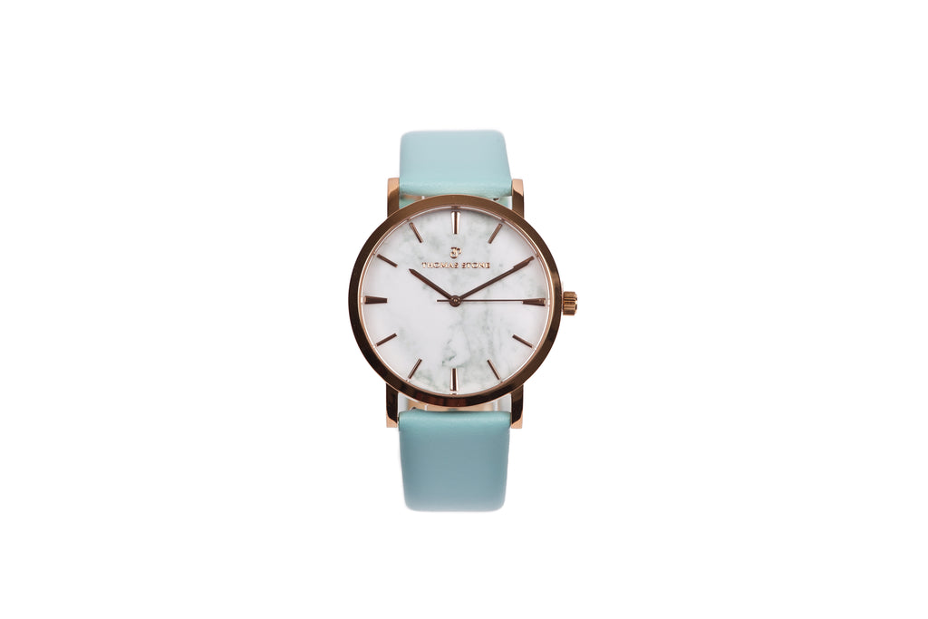 Thomas Stone Classic Marble Rosegold 38mm Watch