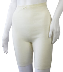 Longer Length Pantee, White