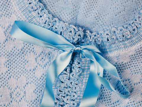 Lux Lux Blue Fabric Swatch