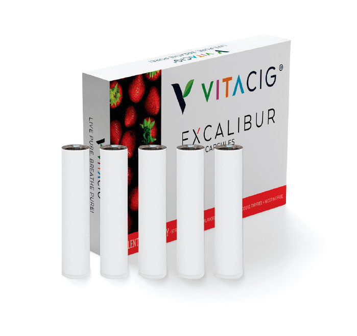 VITACIG® Excalibur - Strawberry Capsules