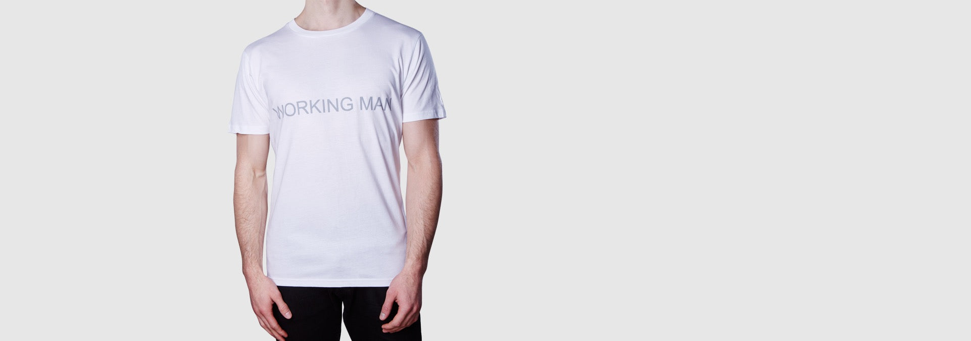 Working Man T-Shirt White