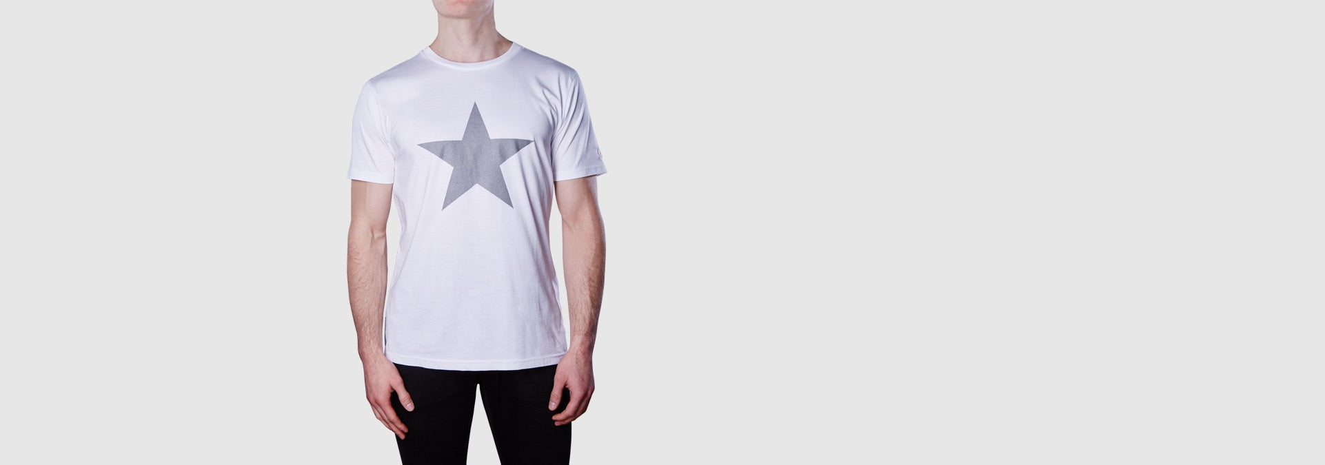 Lone Star Organic Cotton T-Shirt White