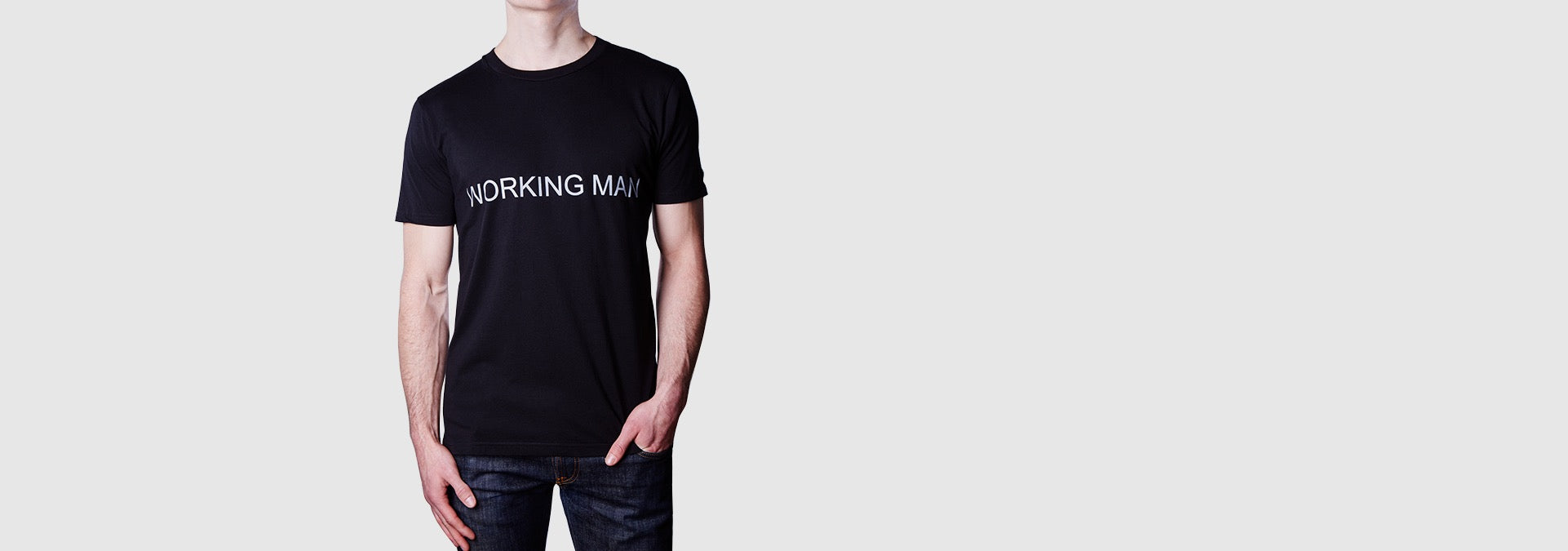 Working Man T-Shirt Black