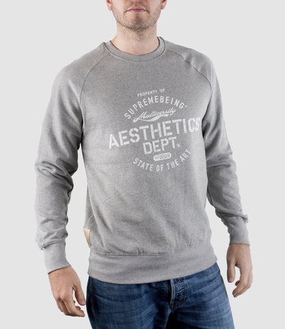 Aesthetics Sweatshirt Light Heather