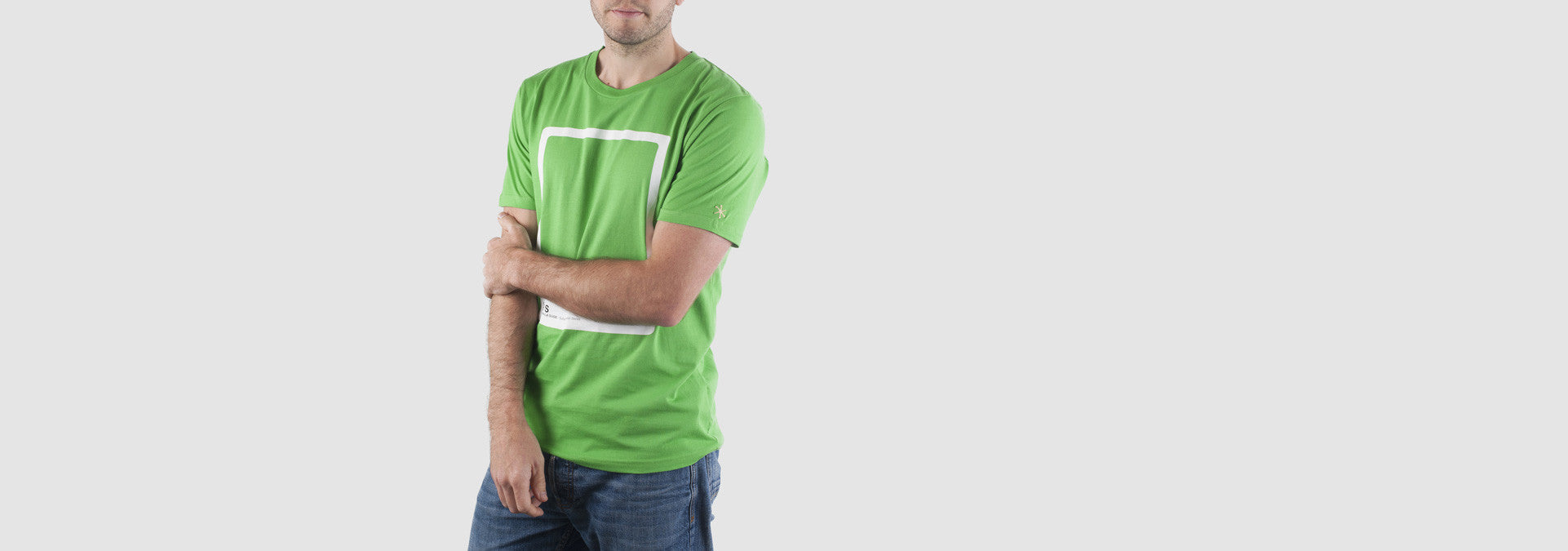 CMYK Swatch T-Shirt Light Green