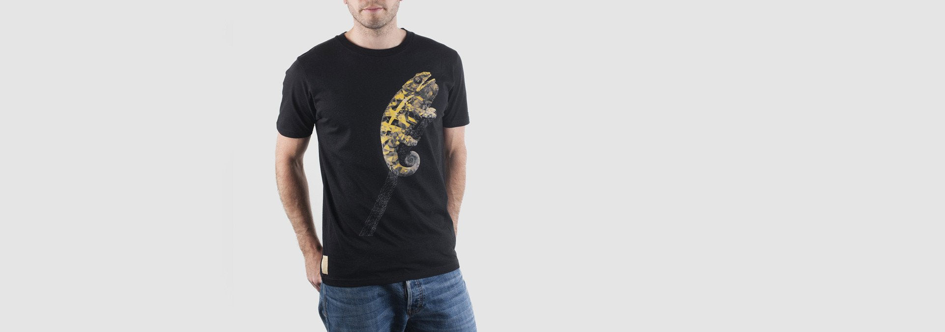 Chameleon T-Shirt Black