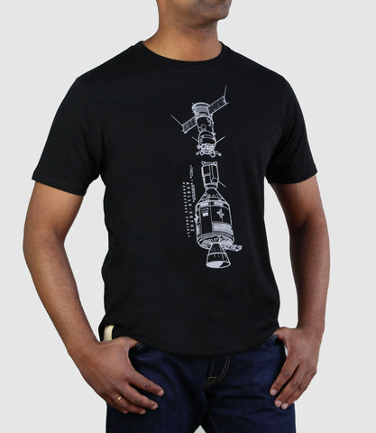 Apollo Soyuz T-Shirt Black