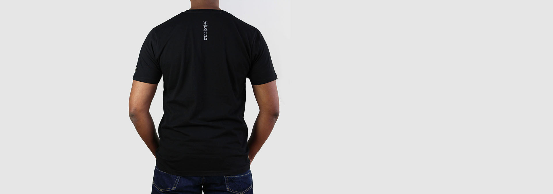 Sputnik 1 Organic Cotton T-Shirt Black