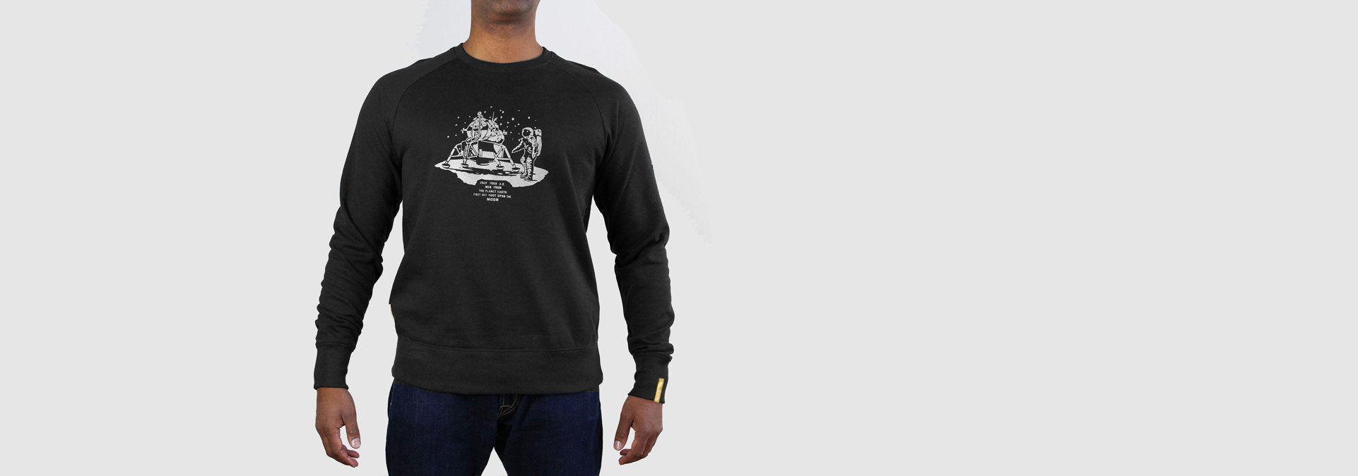 Apollo 11 Sweatshirt Black