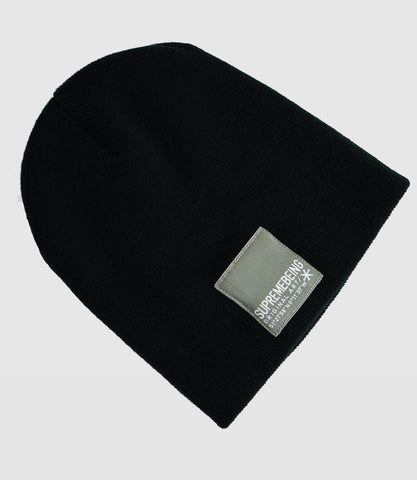 Sb Label Beanie Black