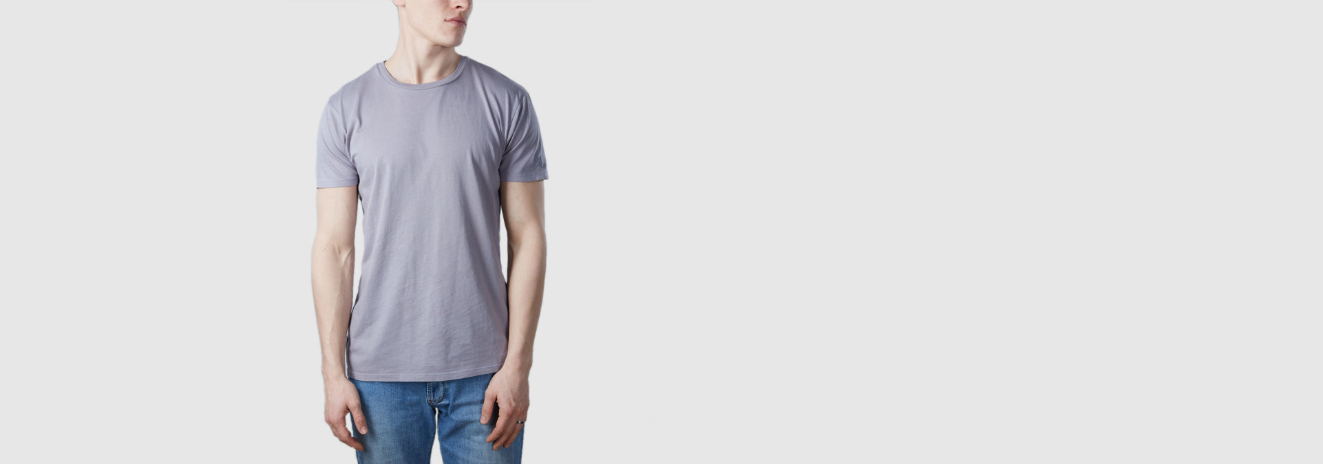 Core T-Shirt Light Grey