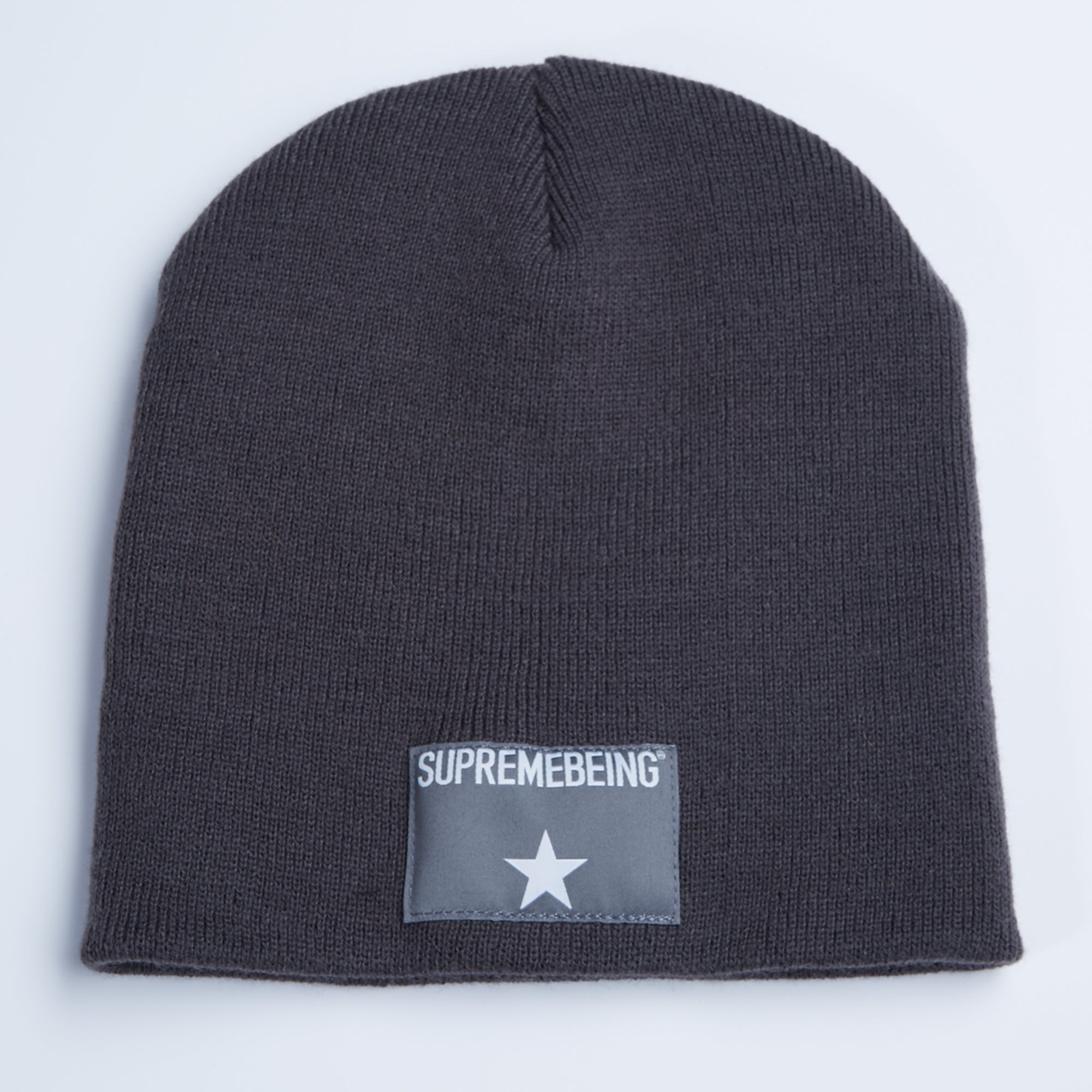 Stellar Label Beanie Grey