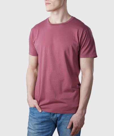 Core T-Shirt Dusky Red