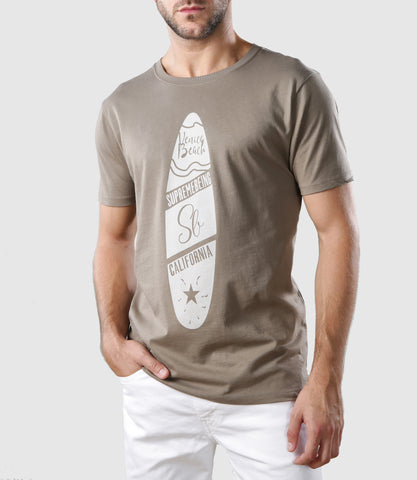 Surf T-Shirt Walnut