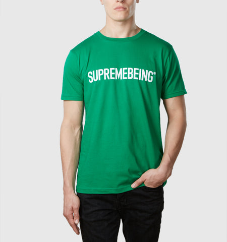 Supremebeing Logo T-Shirt Kelly Green