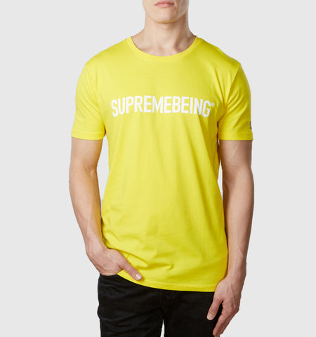 Supremebeing Logo T-Shirt Yellow