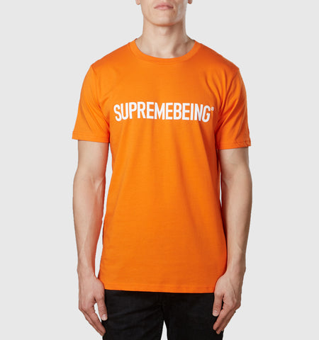 Supremebeing Logo T-Shirt Orange