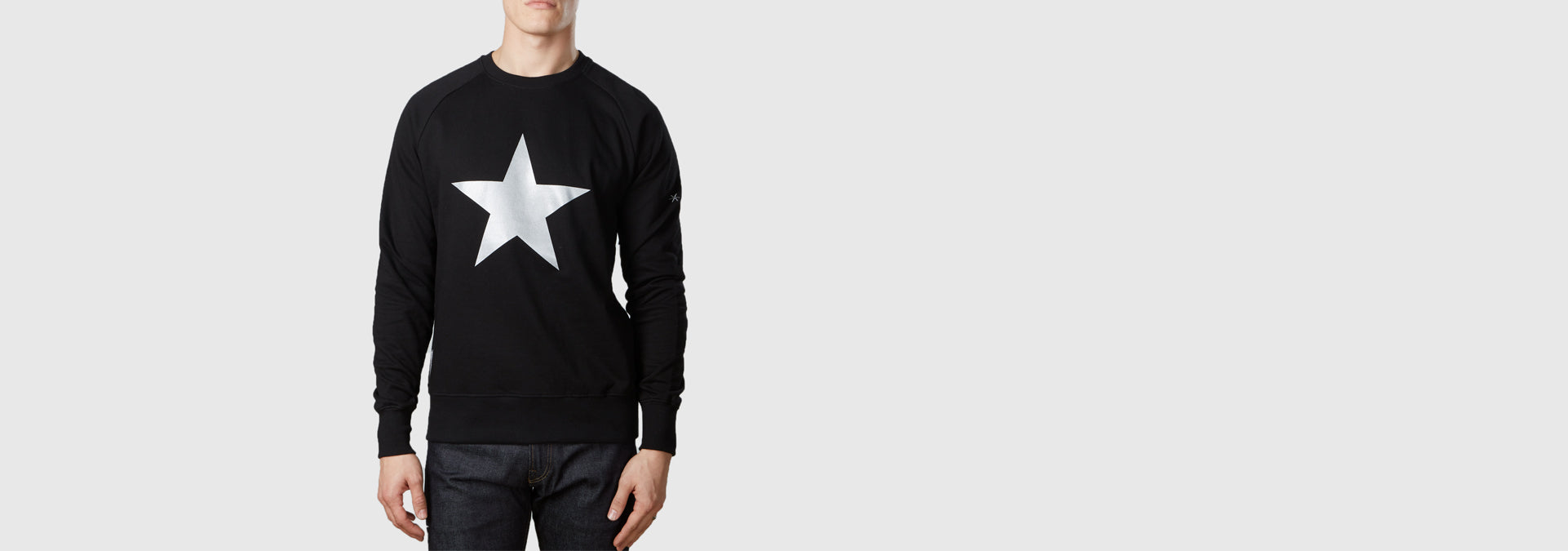 Lone Star Organic Cotton Sweat Black