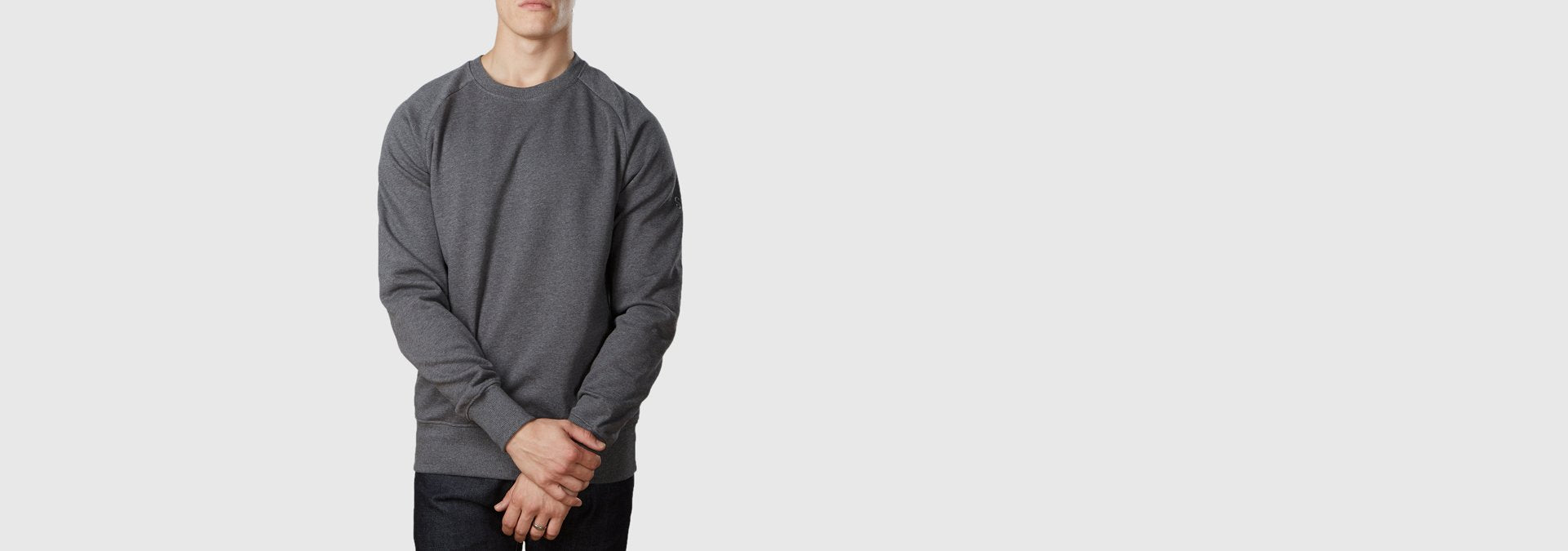 Core Organic Cotton Sweatshirt Dark Heather