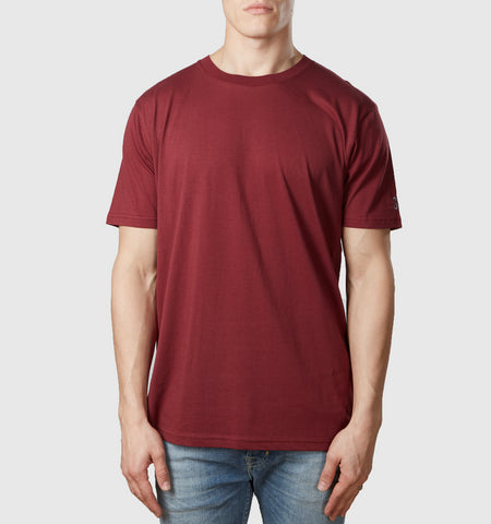 Core Organic Cotton T-Shirt Burgundy