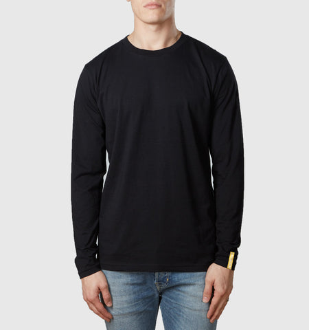 Core Organic Cotton L/S T-Shirt Black