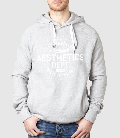 Aesthetics Hoodie Light Heather
