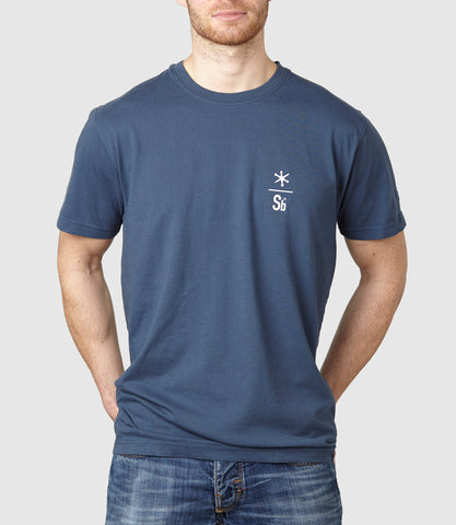 Core One T-Shirt Vintage Denim Blue