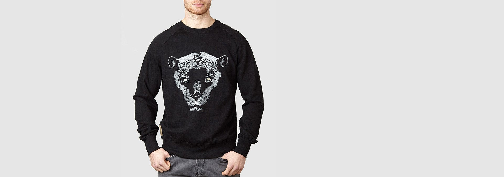 Leopardo Sweatshirt Black