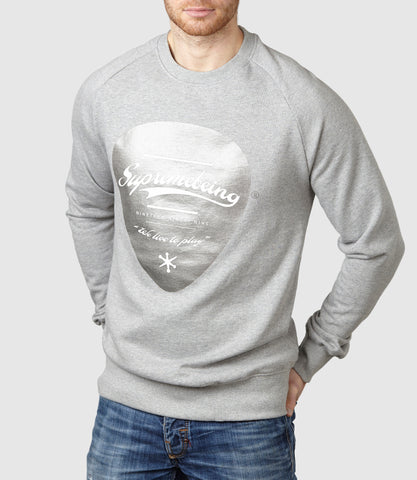 Plectrum Sweatshirt Light Heather
